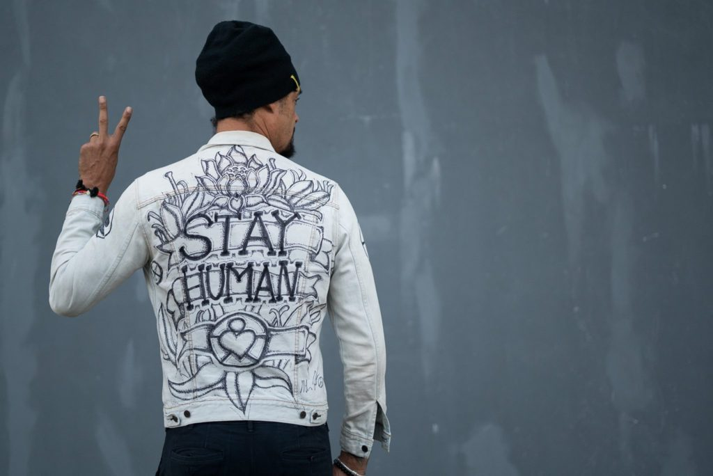 KEEP LIVING. STAY HUMAN.