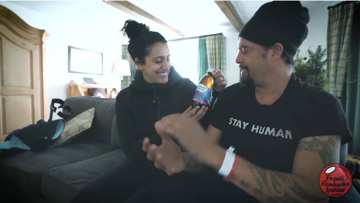 Michael Franti's Kombucha Review – 'High Country Kombucha'