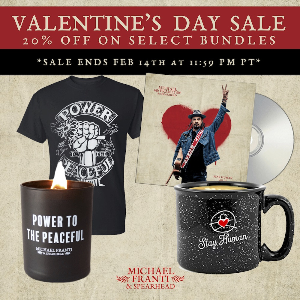 Valentine's Day Merch Sale
