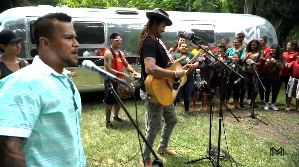 Meleana Sessions: Michael Franti & the Mana Maoli Collective