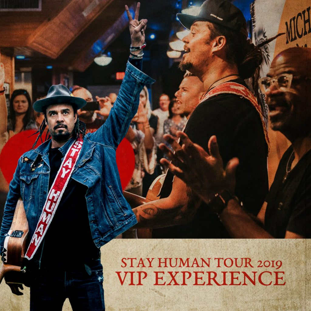 VIP Experiences NOW AVAILABLE for 2019 Stay Human Tour