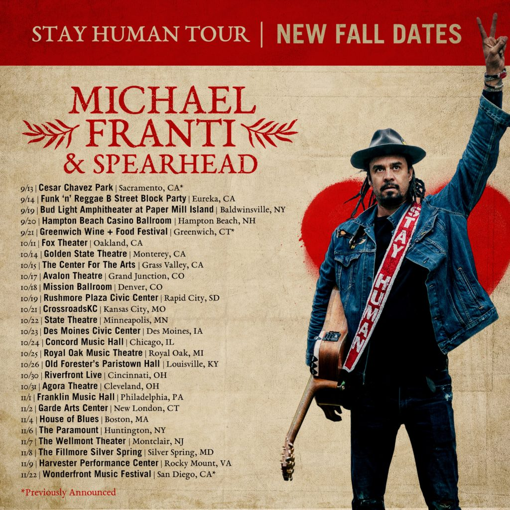 Michael Franti & Spearhead | The Official Site of Michael