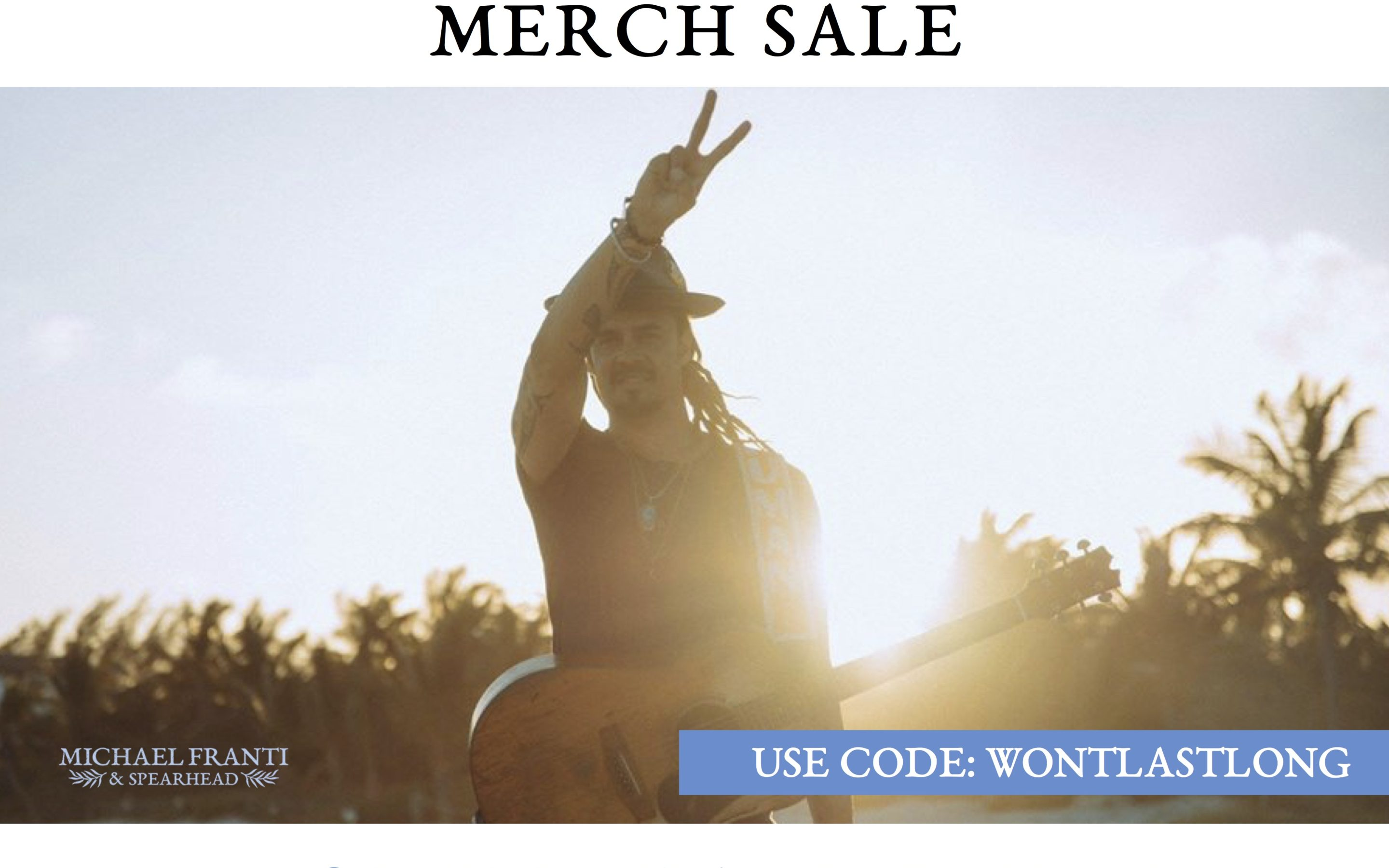 Summertime Ain't Gone Merch Sale