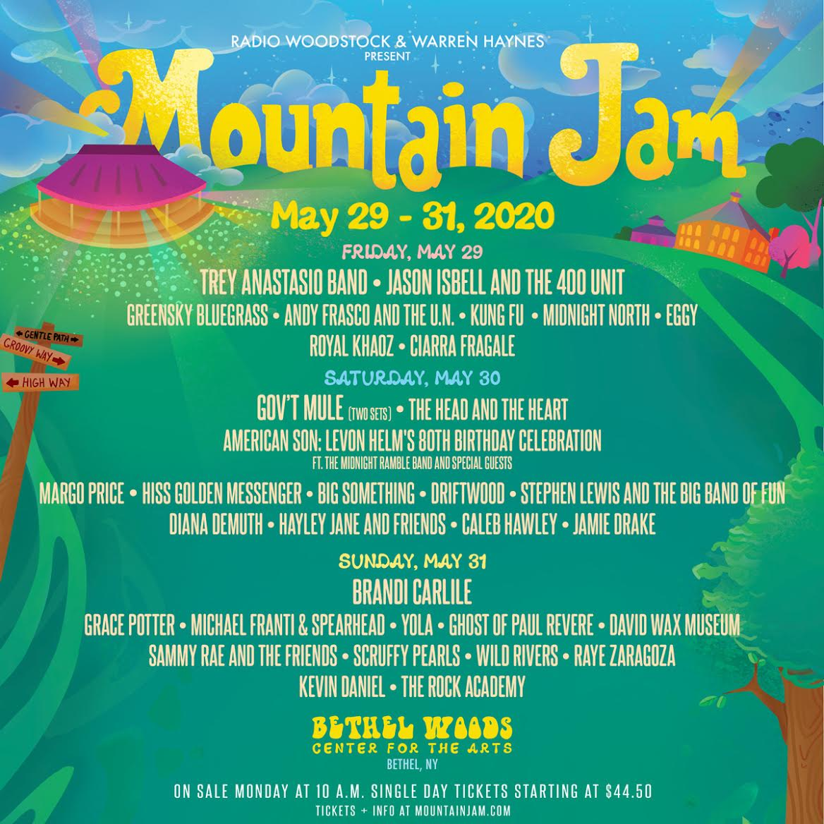 Michael Franti & Spearhead Return to Mountain Jam