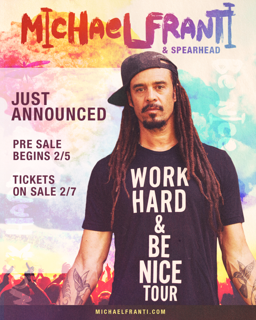 Just Announced! Work Hard & Be Nice Tour – 50+ New Dates