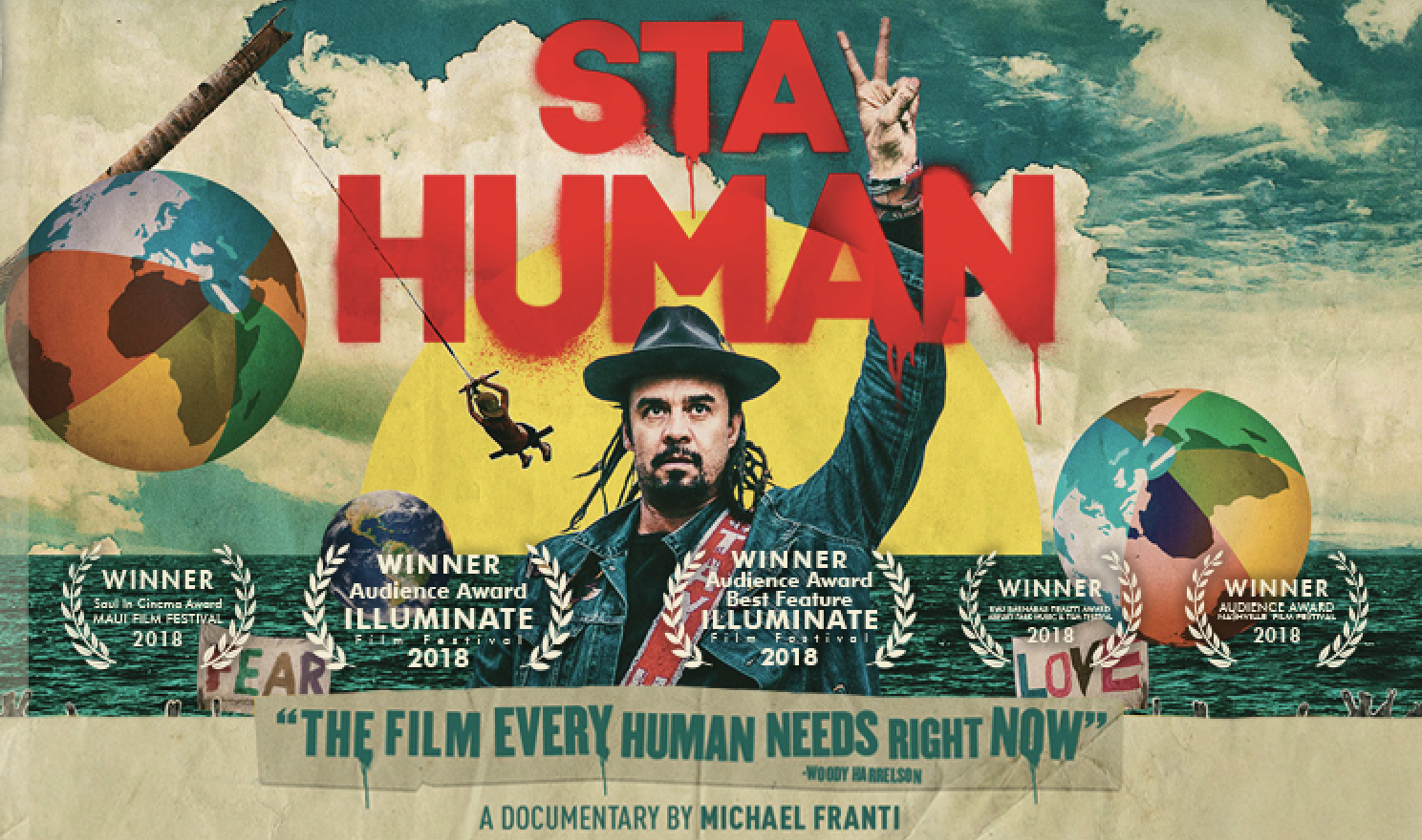YouTube World Premiere of Stay Human, An Award Winning Film By Michael Franti