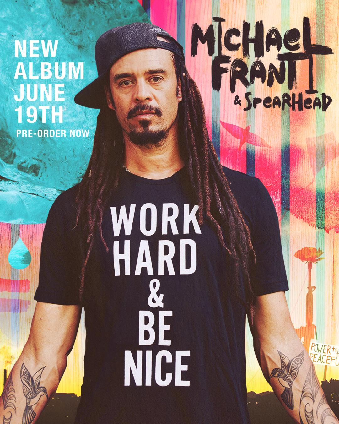 NEW ALBUM ALERT!!! Work Hard Be Nice