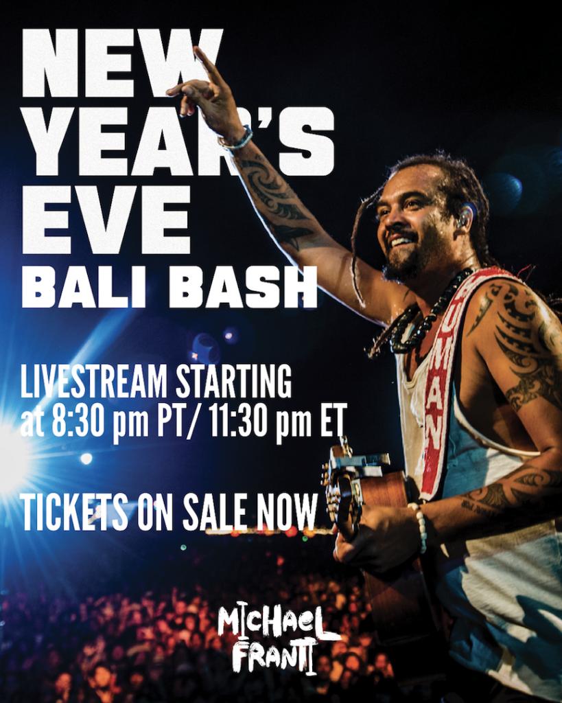 New Year's Eve Livestream Bali Bash